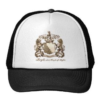BOYLE FAMILY CREST MESH HAT