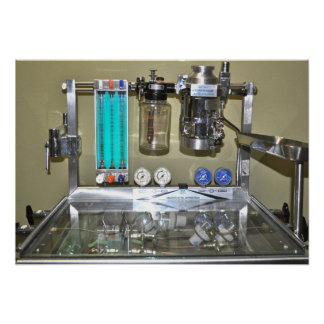 BOYLES ANAESTHETIC MACHINE POSTER