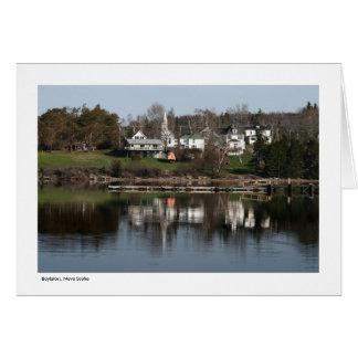 Boylston, Nova Scotia - Greeting Card