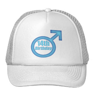 Boys 14th Birthday Gifts Mesh Hat