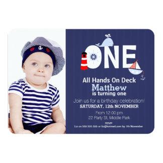 Nautical Birthday Invitations & Announcements | Zazzle.com.au