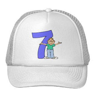 Boys 7th Birthday Gifts Cap