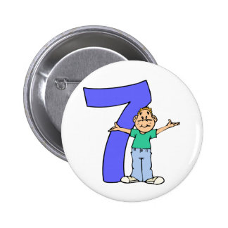 Boys 7th Birthday Gifts Pins