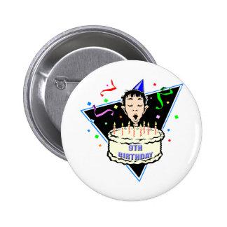 Boys 9th Birthday Gifts Pin