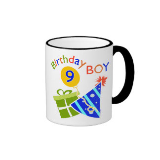 Boys 9th Birthday Coffee Mug
