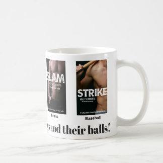 Boys and balls mug