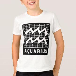 Boys' Aquarius Zodiac Sign Tee