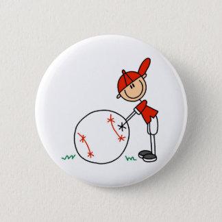 Boys Baseball Customize 6 Cm Round Badge