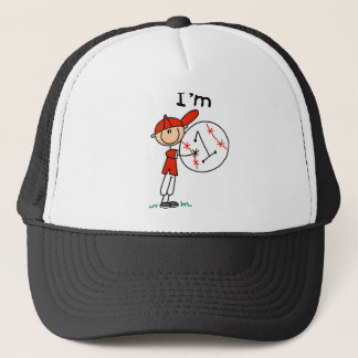 Boy's Baseball I'm 1 Trucker Hat