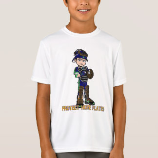 Boys baseball theme t-shirt