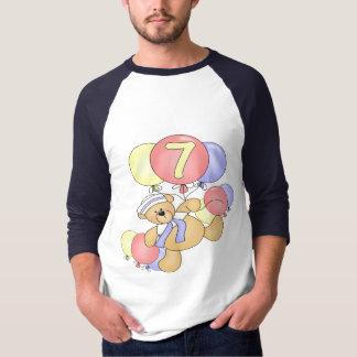 Boys Bear 7th Birthday Gifts T-Shirt