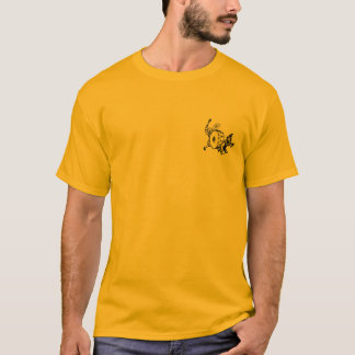 Boy's best friend.  Solid gold edition. T-Shirt