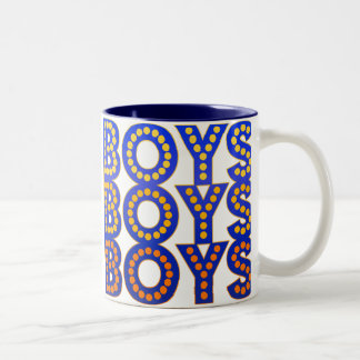 Boys Boys Boys Coffee Mugs
