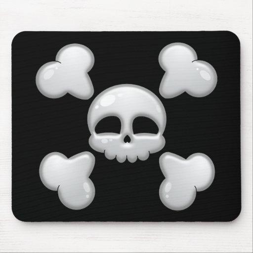 Boy's Cartoon Skull Mousepad
