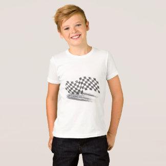 Boys Caution Car's Racing Tee