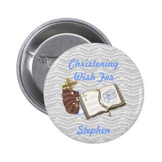 Boys Christenings Book Pin
