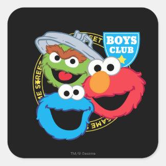 Boys Club Monsters Square Sticker