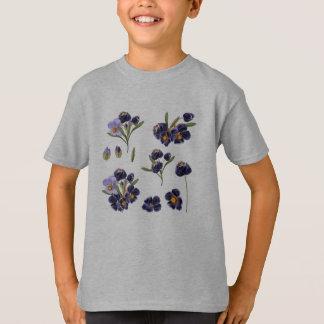 Boys designers t-shirt with Folk flowers