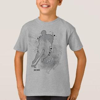 Boys Double Vision Hockey Player T-Shirt