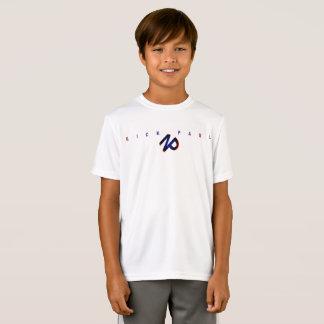 Boy's dri fit White T-Shirt