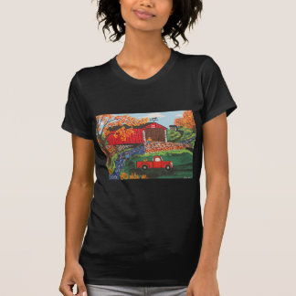 Boys Fishing Under The Covered Bridge T-Shirt