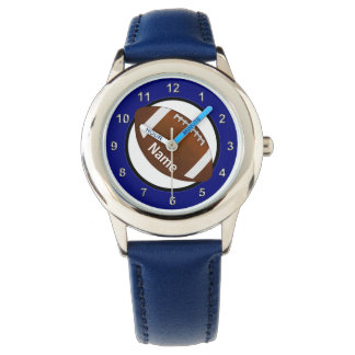 Boys Football Watch with his NAME