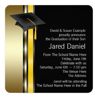 Boys Graduation Announcements