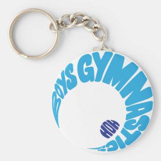 Boys Gymnastics Keychain