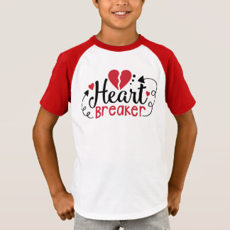 Boys Heart Breaker Valentine Shirt
