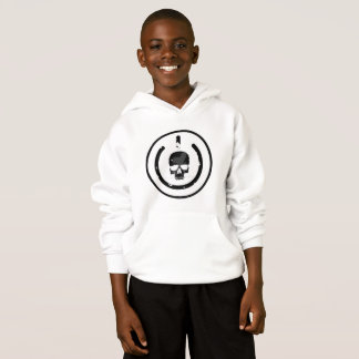 Boys hoodie with logo on the frount