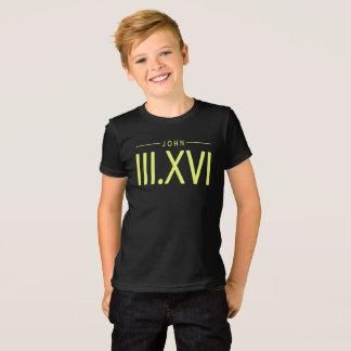Boy's John 3:16 Shirt