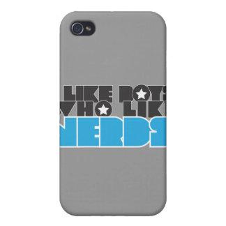boys like nerds iPhone 4 cases