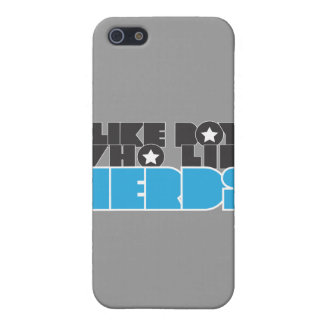 boys like nerds iPhone 5/5S cases