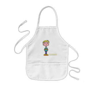 Boys like to cook! Pancakes up! APRON