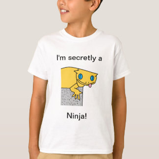 "Boy's Lizard ""I'm secretly a Ninja!"" Tee"