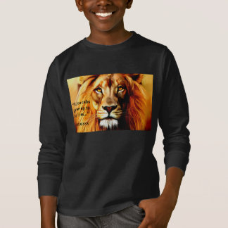 "Boys Long Sleeve ""Lion"" Cub Shirt by GODDESSY"