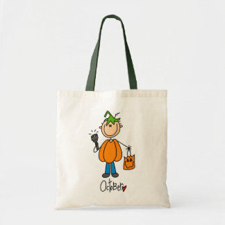 Boy's October Birthday Tote Bags