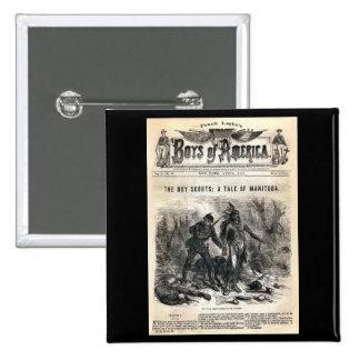 Boys of America Vol X No 56 1878 Buttons