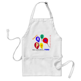 Boys or Girls Colorful Craft Apron CUSTOMIZE  IT Aprons