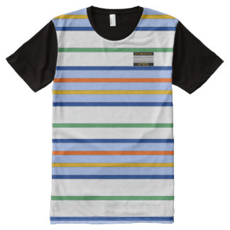 Boys or Teenager Blue White Colors Striped T-Shirt