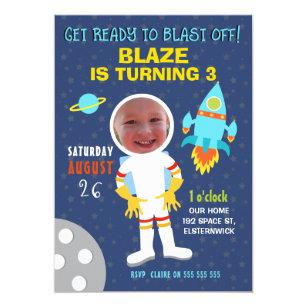 Space Birthday Invitations Announcements Zazzlecomau