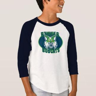 Boys' Raglan Bobcat - var. colors T-Shirt