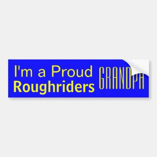 Boys Ranch High School PROUD Grandpa Car Sticker Bumper Sticker