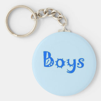 Boys Restroom keychain