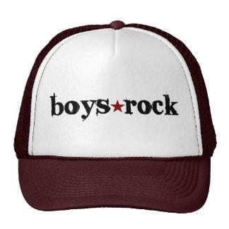 Boys Rock Cap