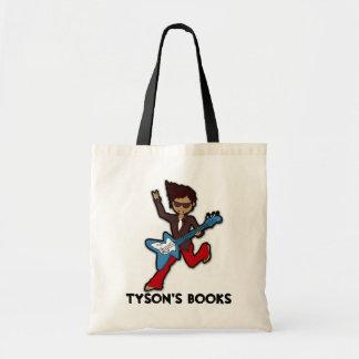 Boys rockstar guitar library book bag