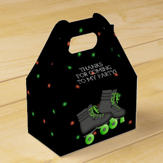 Boy's Roller Skate Birthday Party Favour Box