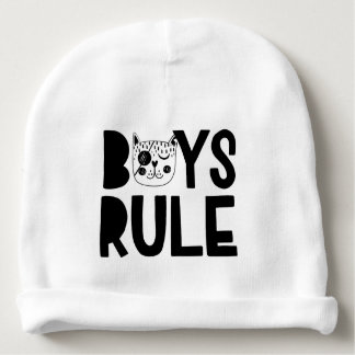 Boys' Rule Baby Cotton Beanie Baby Beanie