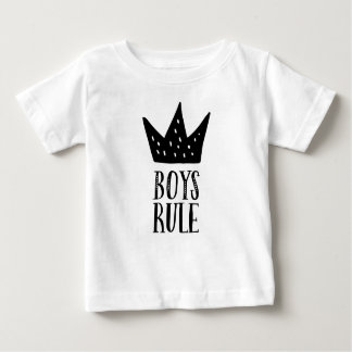 Boys rule baby T-Shirt
