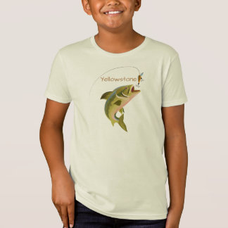 Boys Shirt Yellowstone Fishing